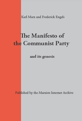 Thesis of communist mannifesto